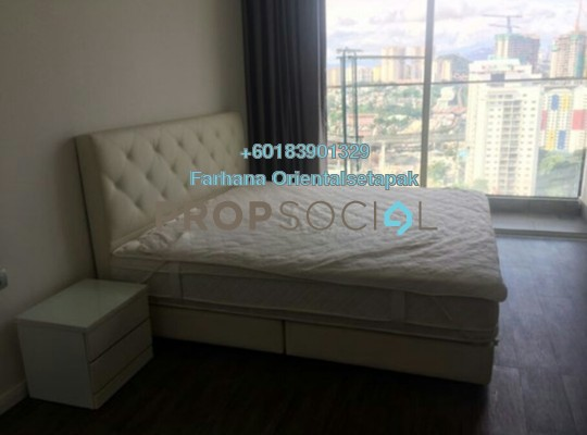 Serviced Residence For Rent in M Suites, Ampang Hilir Freehold Fully Furnished 1R/1B 2k