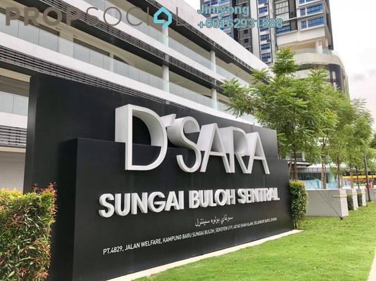Condominium For Rent in D'Sara Sentral, Sungai Buloh Freehold Semi Furnished 3R/2B 1.8k