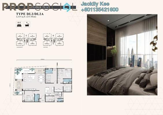 Condominium For Sale in The Address, Taman Desa Freehold Semi Furnished 4R/4B 1.32m