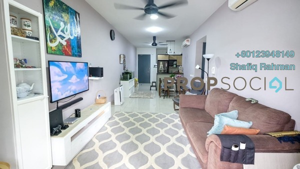 Condominium For Sale in Selayang 18, Selayang Freehold Semi Furnished 3R/2B 510k