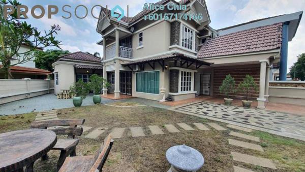 Terrace For Sale in Taman Mutiara Rini, Skudai Freehold Fully Furnished 4R/3B 850k