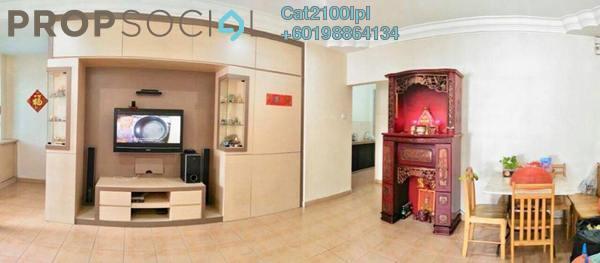 Terrace For Sale in Setia Indah, Tebrau Freehold Semi Furnished 4R/3B 528k