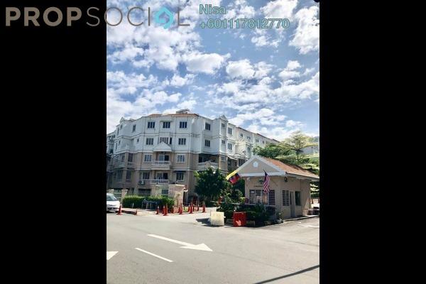 Townhouse For Rent in Sommerset Close, Bandar Sri Permaisuri Freehold Semi Furnished 4R/4B 2.5k