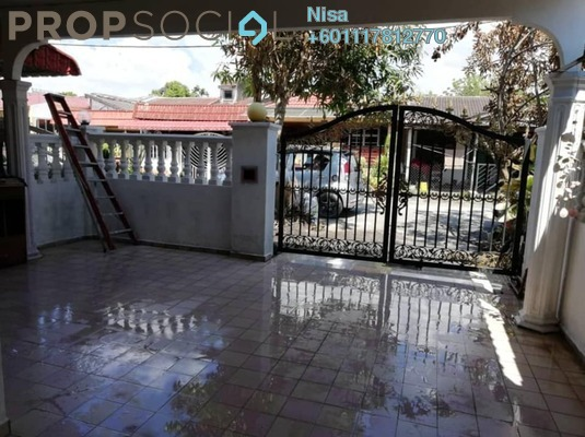 Terrace For Rent in Taman Sri Raya, Batu 9 Cheras Freehold Semi Furnished 3R/2B 1.2k
