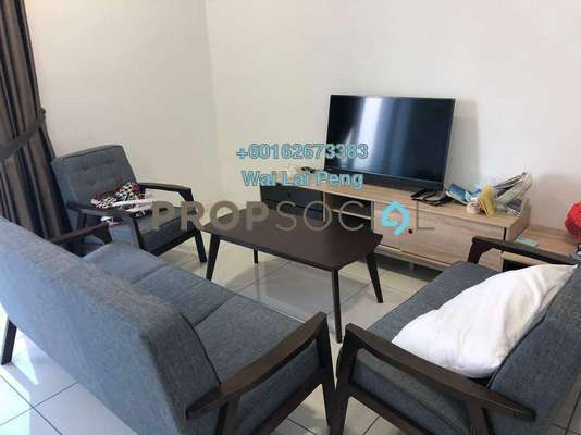 Condominium For Rent in EcoSky, Kuala Lumpur Freehold Fully Furnished 3R/2B 2.8k
