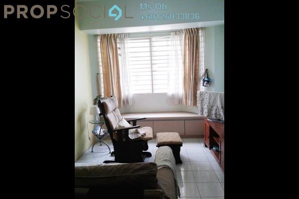 Serviced Residence For Sale in Rhythm Avenue, UEP Subang Jaya Freehold Semi Furnished 2R/1B 300k