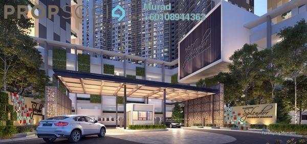 Serviced Residence For Sale in Platinum Splendor Residence, Kuala Lumpur Leasehold Unfurnished 3R/2B 450k