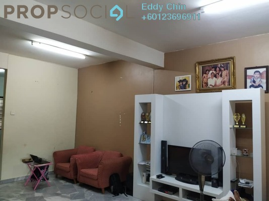 Terrace For Sale in BP1, Bandar Bukit Puchong Freehold Semi Furnished 4R/3B 600k