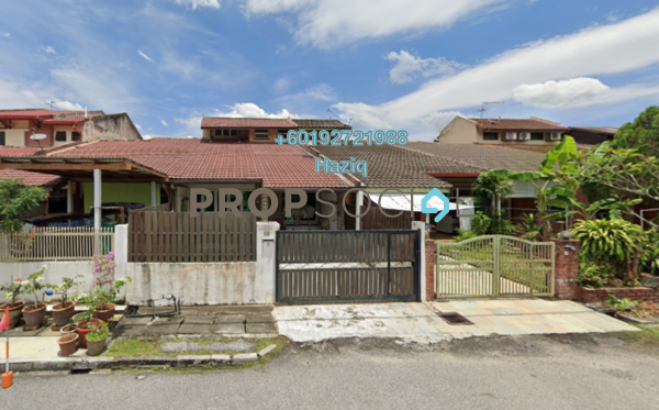 Terrace For Sale in Abang Haji Openg, TTDI Freehold Semi Furnished 5R/3B 1.45m