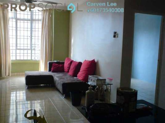 Condominium For Sale in Aliran Damai, Cheras South Freehold Semi Furnished 3R/2B 320k