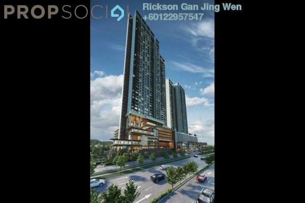 Condominium For Sale in The Pulse Residence, Bandar Puteri Puchong Freehold Semi Furnished 3R/2B 648k