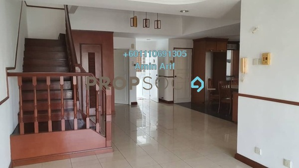Duplex For Sale in Tiara Duta, Ampang Leasehold Semi Furnished 3R/2B 535k