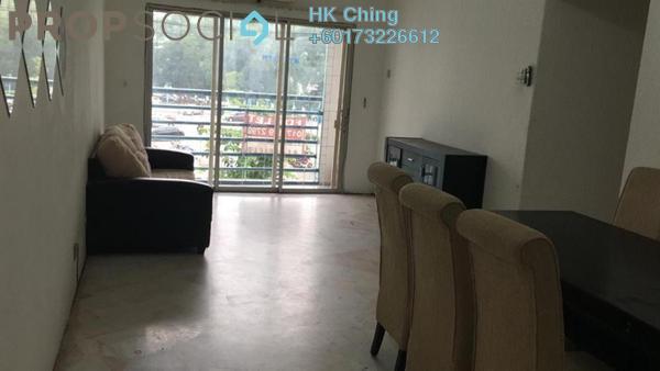 Condominium For Rent in Akasia Apartment, Pusat Bandar Puchong Freehold Semi Furnished 3R/2B 1.1k