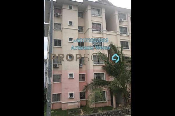 Apartment For Rent in Residensi Warnasari 2, Puncak Alam Freehold Semi Furnished 3R/2B 500translationmissing:en.pricing.unit
