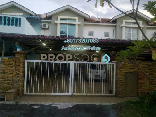 Terrace For Sale in Bandar Country Homes, Rawang Freehold Unfurnished 4R/3B 390k