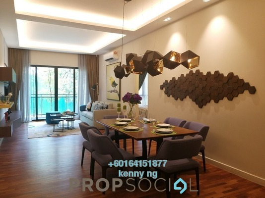 Condominium For Sale in Kaleidoscope, Setiawangsa Freehold Semi Furnished 3R/2B 617k