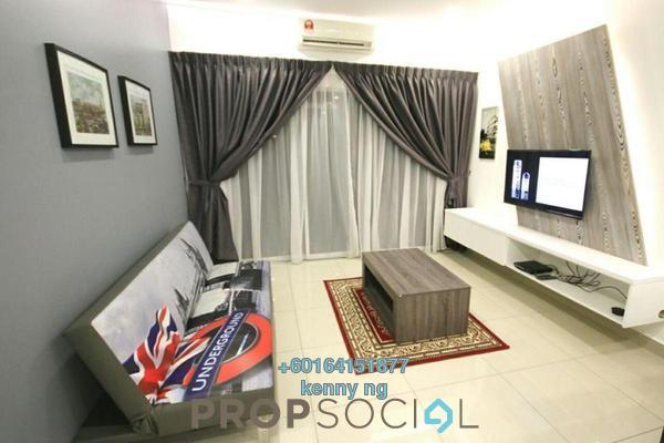 Condominium For Sale in Anyaman Residence, Bandar Tasik Selatan Freehold Semi Furnished 3R/2B 605k
