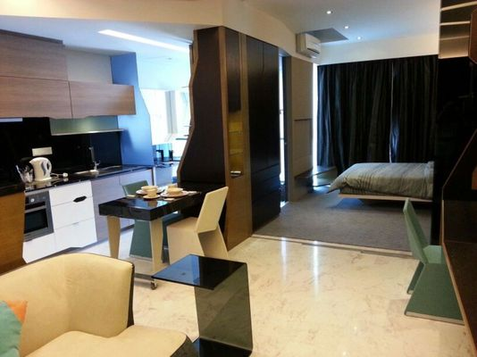 Condominium For Sale in VERVE Suites, Mont Kiara Freehold Fully Furnished 1R/1B 600k