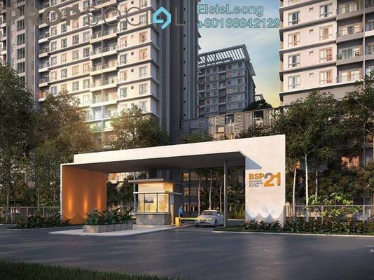 Serviced Residence For Rent in BSP 21, Bandar Saujana Putra Freehold Semi Furnished 3R/2B 1.6k