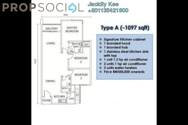 Condominium For Sale in Metro Cheras, Batu 9 Cheras Freehold Semi Furnished 3R/2B 485k