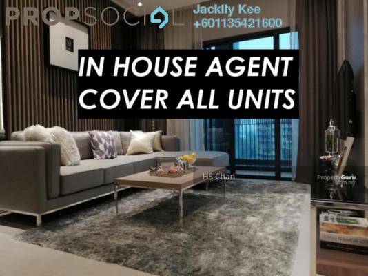 Condominium For Sale in M Vertica, Cheras Freehold Semi Furnished 3R/2B 445k
