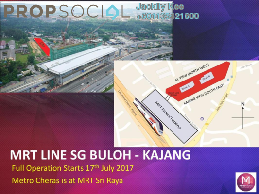 SoHo/Studio For Sale in Metro Cheras, Batu 9 Cheras Freehold Unfurnished 2R/2B 386k