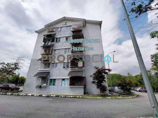 Apartment For Sale in Taman Puncak Rasah Apartment, Seremban 2 Freehold Unfurnished 3R/2B 210k