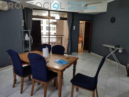 Condominium For Rent in Villa Puteri, Putra Freehold Fully Furnished 2R/2B 1.8k