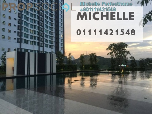 Condominium For Rent in Residency V, Old Klang Road Freehold Semi Furnished 2R/2B 1.55k