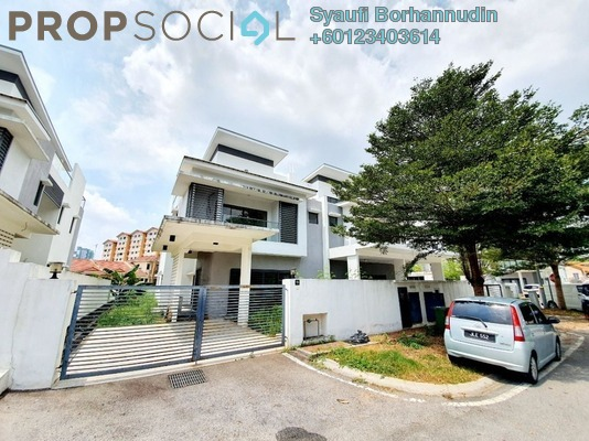 Semi-Detached For Sale in Kayumanis Garden Villa, Kajang Freehold Unfurnished 6R/6B 1.2m