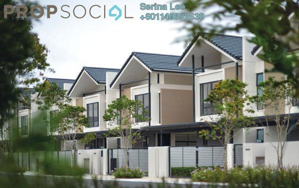 Terrace For Sale in Crisantha @ Resort Homes, Bandar Sri Sendayan Freehold Semi Furnished 4R/4B 600k