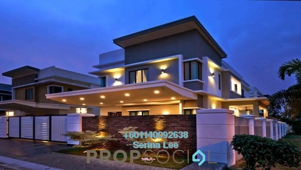 Bungalow For Sale in IOI Square, Putrajaya Freehold Semi Furnished 5R/0B 399k