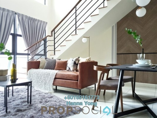 Duplex For Rent in Arte Mont Kiara, Dutamas Freehold Fully Furnished 2R/1B 3k
