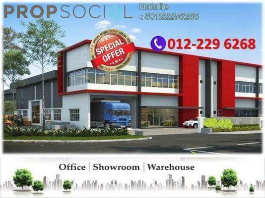 Factory For Sale in Bandar Country Homes, Rawang Freehold Semi Furnished 0R/4B 980k