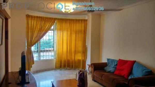 Condominium For Rent in Endah Regal, Sri Petaling Freehold Fully Furnished 3R/2B 1.6k