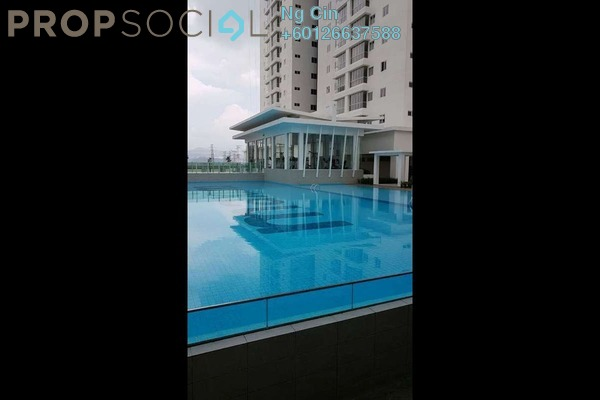 Serviced Residence For Rent in Maxim Citilights, Sentul Freehold Semi Furnished 3R/2B 1.5k