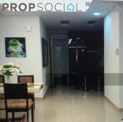 Serviced Residence For Rent in Subang Parkhomes, Subang Jaya Freehold Fully Furnished 3R/2B 2.6k