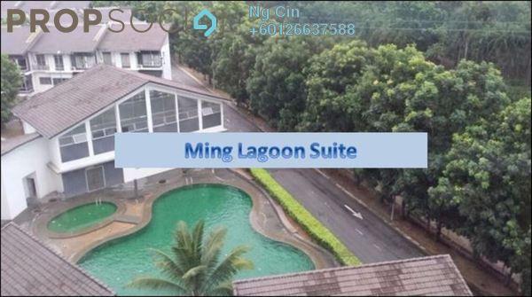 Condominium For Rent in Lagoon Homes, Kota Kemuning Freehold Semi Furnished 2R/2B 1.6k