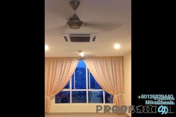 Condominium For Rent in The Loft @ ZetaPark, Setapak Freehold Semi Furnished 3R/3B 2.5k