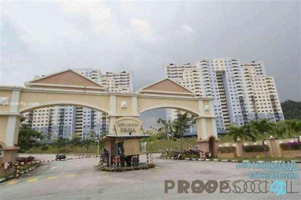 Condominium For Rent in Desaminium Rimba, Bandar Putra Permai Freehold Unfurnished 3R/2B 1.5k