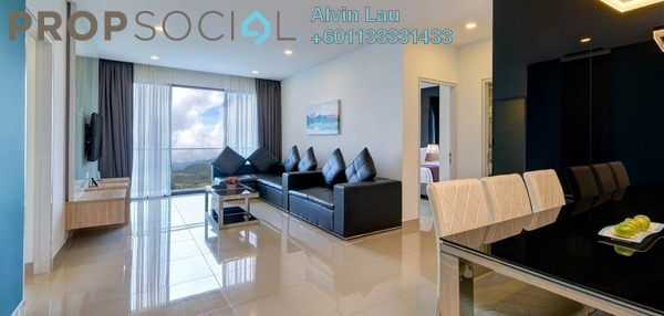 Condominium For Sale in Grand Ion Majestic, Genting Highlands Freehold Fully Furnished 1R/1B 485k