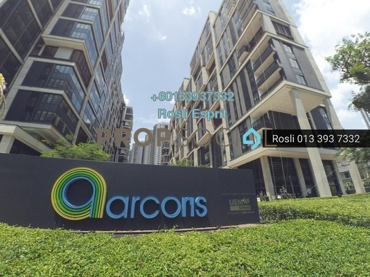 Office For Sale in Arcoris, Mont Kiara Freehold Semi Furnished 0R/1B 2.9m
