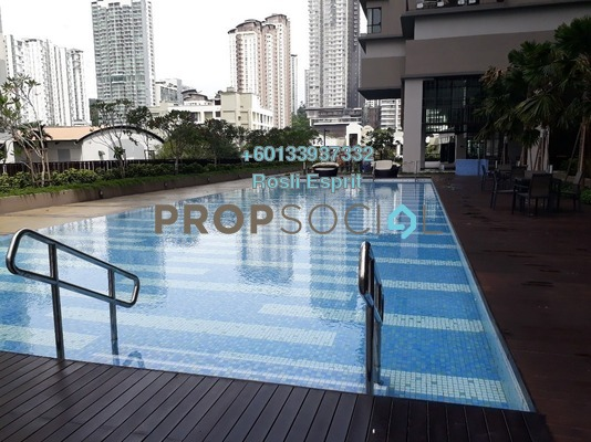 Condominium For Rent in Residensi 22, Mont Kiara Freehold Fully Furnished 3R/3B 8k