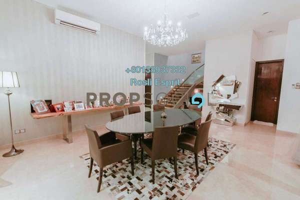 Bungalow For Sale in The Residence, Mont Kiara Freehold Fully Furnished 6R/6B 10.9m