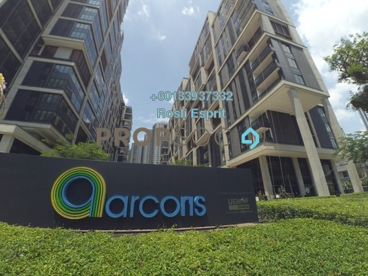Serviced Residence For Rent in Arcoris, Mont Kiara Freehold Semi Furnished 2R/2B 3.6k