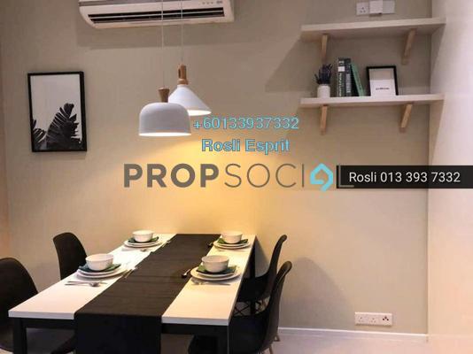 SoHo/Studio For Rent in Arcoris, Mont Kiara Freehold Fully Furnished 0R/0B 2.7k