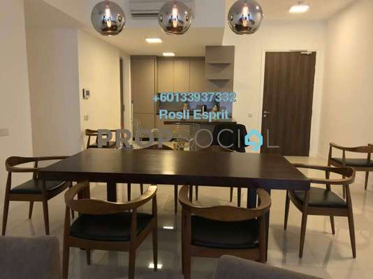 Condominium For Rent in Residensi 22, Mont Kiara Freehold Fully Furnished 3R/4B 7.5k