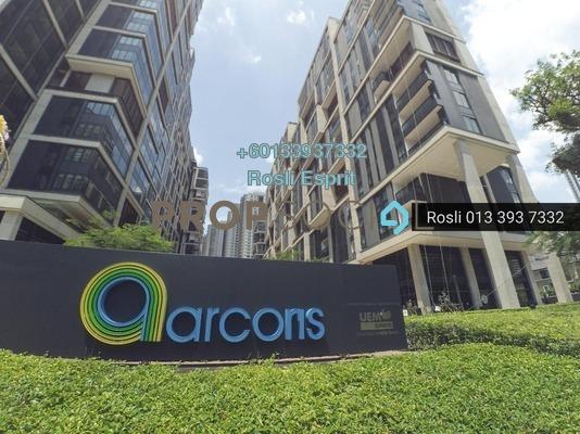 SoHo/Studio For Rent in Arcoris, Mont Kiara Freehold Fully Furnished 1R/1B 2.2k