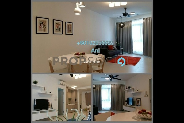Serviced Residence For Rent in AraGreens Residences, Ara Damansara Freehold Semi Furnished 2R/1B 2k