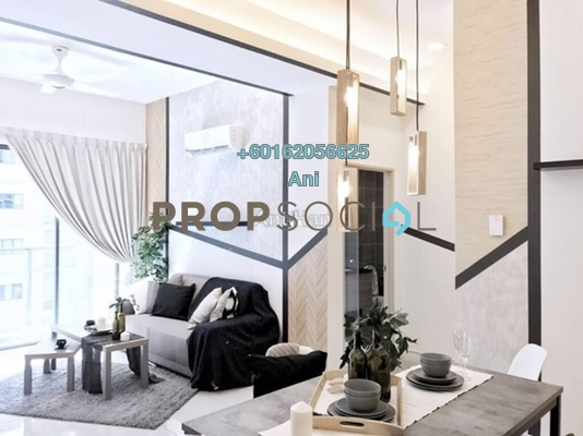 Serviced Residence For Rent in Maisson, Ara Damansara Freehold Fully Furnished 2R/2B 2.4k